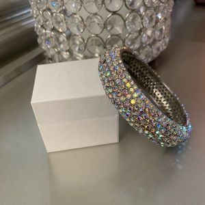 Big Rhinestone Bangle Bracelet